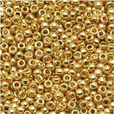 15/0 Galvanized PF Starlight TOHO Round Glass Seed Beads 10 grams  #557