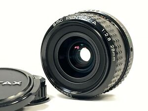 [Mint] SMC Pentax-A 28mm f/2.8 Wide Angle MF Lens K Mount from JAPAN