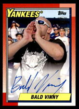 2017 Topps Archives Fan Favorites Bald Vinny Calling Roll Auto (ref 30374)
