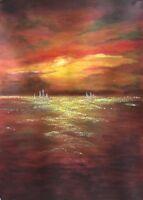 Original Acrylic Painting On Canvas Wall Art Landscape Art