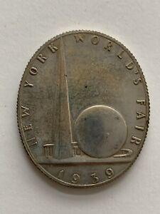 1939 New York World's Fair So-Called Silver Dollar HK-491