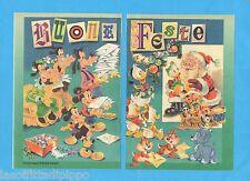 TOP989-PUBBLICITA'/ADVERTISING-1989- TOPOLINO BUONE FESTE dis. ASTERITI -2 fogli