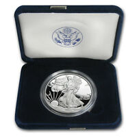 2008-W 1 oz Proof Silver American Eagle (w/Box & COA) - SKU #32032
