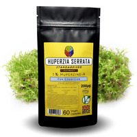 Huperzine A 200mcg Capsules - Memory Supplement - Huperzia Extract + FREE GIFT