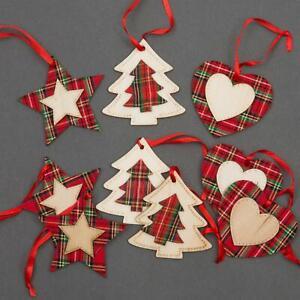 9 Pcs Christmas Tree Hanging Decorations Ornaments Xmas Home Decor Set