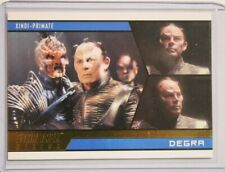 2014 Star Trek Aliens Gold Foil Parallel Card 66 #017/100