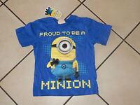 Minions Minion Jungen Mädchen  T-Shirt aus England Gr. 110/116 Neu mit Etikett