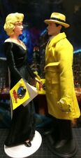 DICK TRACY & MAHONEY FIGURES BY APPLAUSE ORIG TAG & STANDS * EXCELLENT