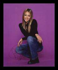JESSICA ALBA AUTOGRAPHED SIGNED & FRAMED PP POSTER PHOTO