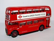EFE AEC RM ROUTEMASTER BUS FAREWELL TO LONDON TRANSPORT 1933-2000 1/76 15628A/2