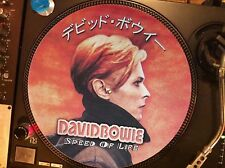 """DAVID BOWIE - SPEED OF LIFE Rare 12"""" Picture Disc Promo Japan Single Low LP NM"""