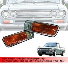 Front Bumper Turn Signal Light For Nissan Datsun 1300 520 521 J13 1968 - 1973
