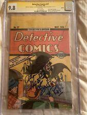 CGC signature series 9.8Re-print detective comics 27signed ADAM WEST&BURT WARD