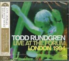 TOOD RUNDGREN-LIVE AT THE FORUM - LONDON 1994-Import CD w/JAPAN OBI  G61