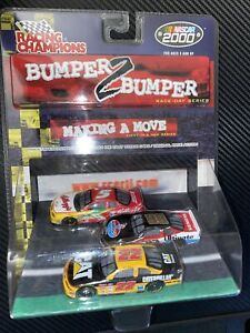 NASCAR 2000 Bumper 2 Bumper 1/64 Diecast Labonte Burton Blaney Making A Move RC