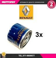 8200768927 3 Filtri olio Dacia-Renault-Opel dci (MARCA ORIGINALE-RENAULT)