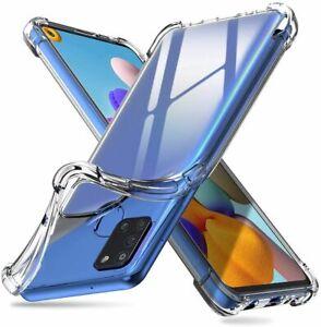 Coque Silicone Protection Antichoc pour Samsung Galaxy A02s A21s A12 A51 A32 A52