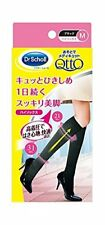 Dr. Scholl It Is with and Is.knee Sock M Black (Japan Import)