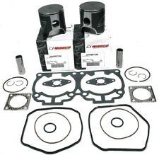72mm STD Wiseco Dual Ring Pistons Gaskets 2005-2008 Ski-Doo 600 HO SDI MXZ GSX