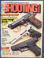 Vintage Magazine SHOOTING TIMES October 1983 !!! BROWNING Model BL-22 RIFLE !!!