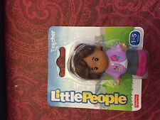Fisher Price Little People Community Helper Teacher School Girl Mom Lady Figure