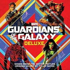 GUARDIANS OF THE GALAXY CD - SOUNDTRACK [2CD DELUXE EDITION](2014) - NEW