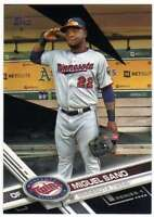 2017 Topps Series 1 Baseball Black Parallel /66 #126 Miguel Sano Twins