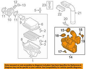 HYUNDAI OEM 12-16 Elantra Air Cleaner Intake-Resonator Assy 282203X320