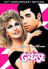 GREASE DVD - 40TH ANNIVERSARY EDITION - NEW UNOPENED - JOHN TRAVOLTA