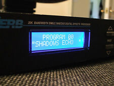 Alesis Quadraverb Plus with 90 NAMED Shadows PRESETS Eprom Installed Ver 2.03