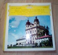 W.A MOZART Deutsche Grammophone Stéréo Messe du Couronnement N°14.....