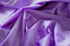 Dance Costume Lycra Light Purple Shiny Nylon Spandex 50cm - 150cm wide