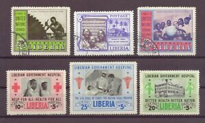 Liberia, Issues of 1941, 1950s, & Air Mail, Cancelled to Order hinged, Used, OLD