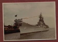 U.S.S. Iowa, Portsmouth, 04. 07. 1955  photograph zh98