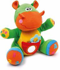 Nilpferd Nino Kuscheltier Activity Spielzeug Motorik Lernspielzeug für Babys Neu