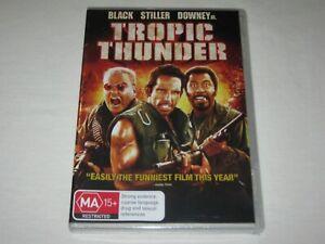 Tropic Thunder - Brand New & Sealed - Region 4 - DVD