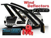 Audi Q5  2009 -  5.doors  Wind deflectors 4.pc   HEKO  10235
