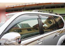 4pcs Window Guard Deflector Rain Shield Cover For Toyota Prado Fj120 2003-2009