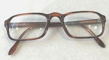 Vintage Eyeglasses Brown Tortoise Churchill 98 Couturier Made In Israel Judaica