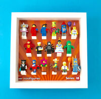 Minifigure Display Case Frame for Series 18 Minifigs