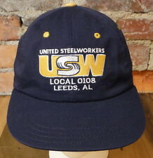 United Steelworkers USW Hat - Local 0101 Leeds Alabama - Union Made in USA Cap