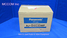 Panasonic AJ-D5C33MP D3/D5 XD 1/2 Digital 33 min Tape Qty 10 New