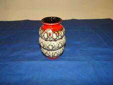 Kleine Vase Keramik Fat Lava 70er Jahre 12 cm (P-162)