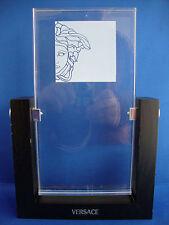 Perfume de vidrio de porcelana de coleccionista VERSACE Diseñador signo de pantalla de punto de venta