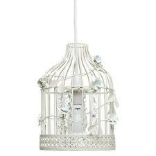 Birdcage Ceiling light Pendant Light shade Cream And baby Blue