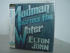 ELTON JOHN MADMAN ACROSS WATER JAPAN REPLICA TO THE ORIGINAL LP IN A OBI RARE CD