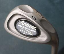 Tommy Armour Ti 100 Pure Titanium 9 Iron Original Stiff Flex Steel Shaft