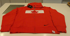 Team Canada 2014 Sochi Winter Olympics Hockey M Classic Red Full Zip Hoody