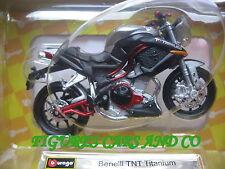 MOTO  1/18 BENELLI TNT 1130 TITANIUM 2011   BURAGO neuve en boite