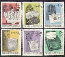 Austria 1965 Escritura/idioma/jeroglíficos/Tablet/Carta/Sello/WIPA 6v (n38530)